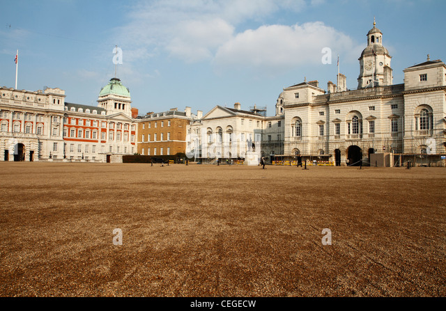 Horse Guards Parade, London - Stock Image