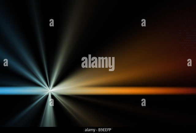 Space Supernova as an Art Abstract Background - Stock Image