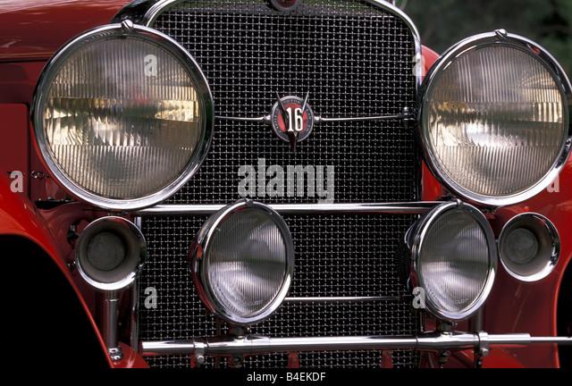 Car Cadillac V Vintage Car Red Model Year Convertible B Ekdf