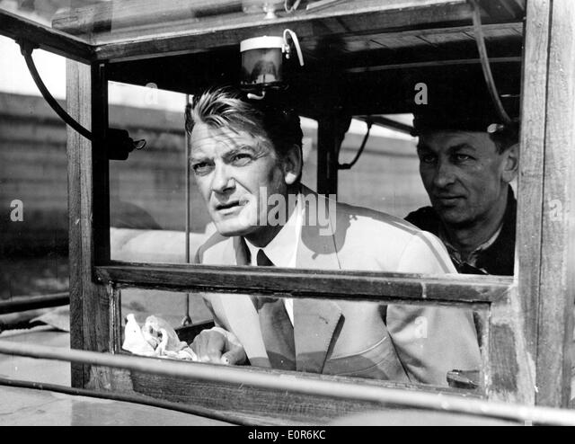 Actor Jean Marais in a scene from one of his films - Stock Image