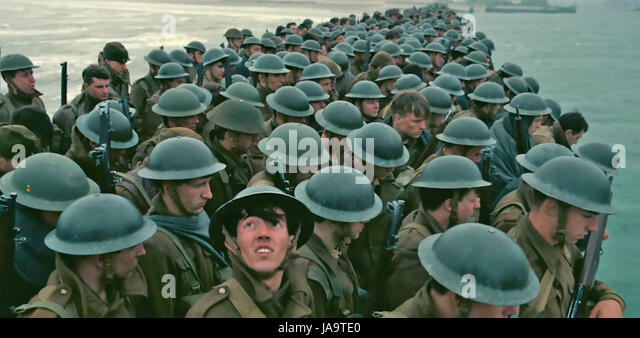 DUNKIRK 2017 Warner Bros film - Stock Image
