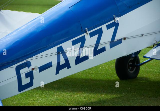 Tiger Moth fuselage - Stock Image
