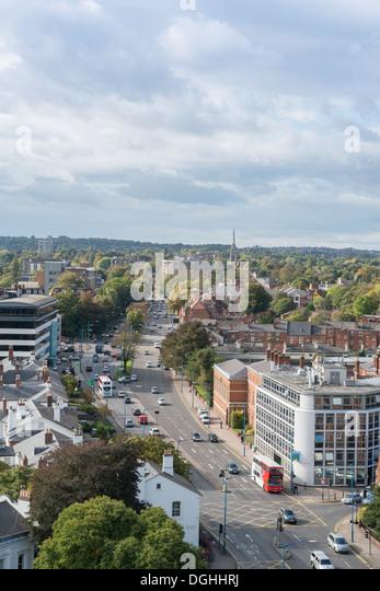 Birmingham City Centre To Six Ways Island