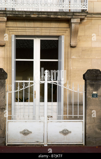 chateau lestrille bordeaux france - Stock Image