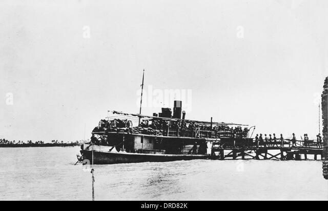 SS Julnar WWI - Stock-Bilder