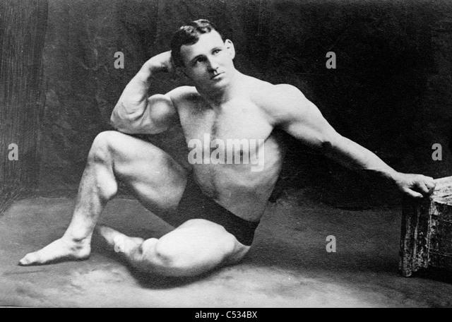 John Lemm, champion wrestler, circa 1910 - 1915 - Stock-Bilder