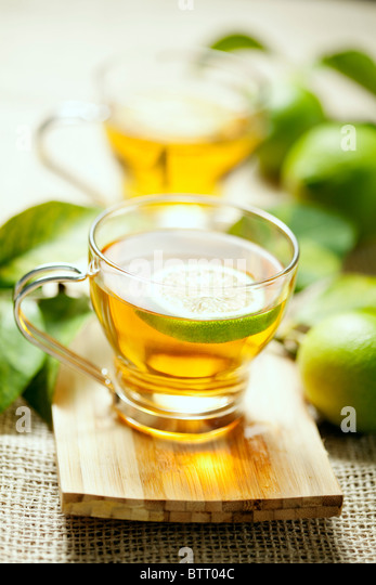 lemon tea - Stock Image