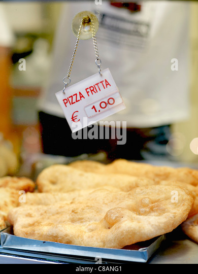 Fried Calzone - Stock Image