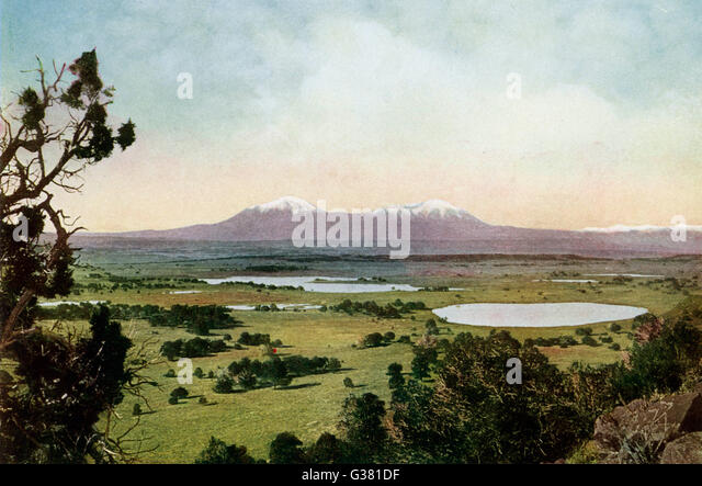 Rocky Mountains,  Colorado        Date: 1923 - Stock Image