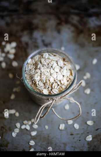 Rolled oats - Stock Image