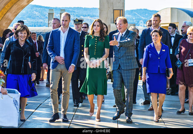 Kelowna, BC, Canada. 27th Sep, 2016. 27 September 2016 - Kelowna, British Columbia, Canada - Princess Kate, Duchess - Stock Image
