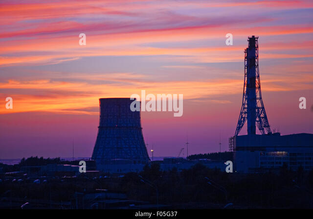 Thermal power plant - Stock Image