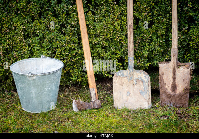 Garden maintenance tools stock photos garden maintenance for Garden maintenance tools