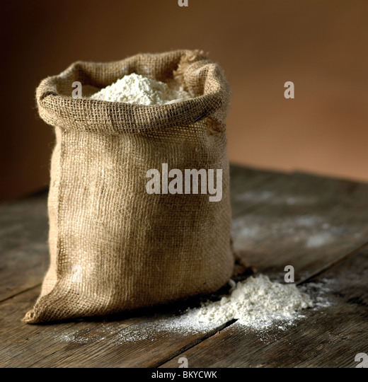 Bag of Flour - Stock-Bilder