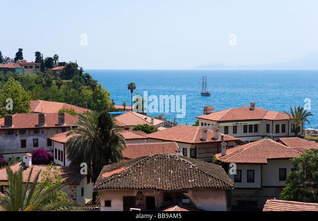 Turkey Antalya Kaleici Old Town Stock Photos & Turkey ...