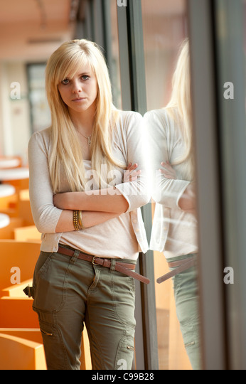 15 Year Old Blonde Stock Photos & 15 Year Old Blonde Stock