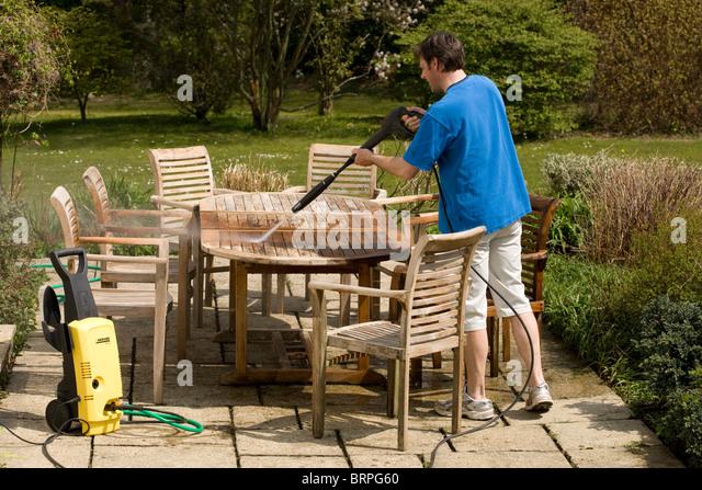 how to clean teak garden furniture. Black Bedroom Furniture Sets. Home Design Ideas