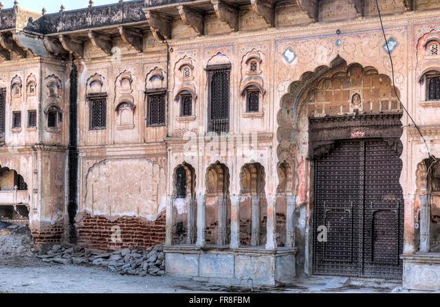 haveli in Mandawa, Jhunjhunu, Rajasthan, India, Asia - Stock-Bilder