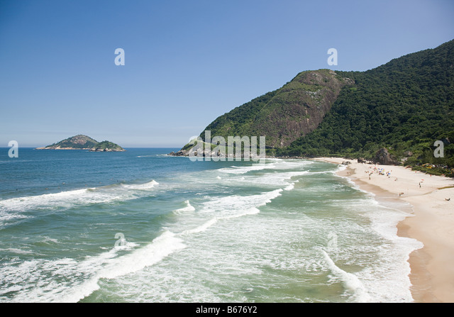 Prainha beach brazil - Stock Image