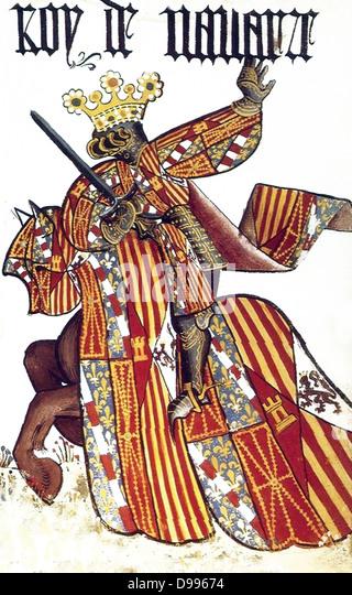 Spanish 15th Century Knight - Stock Image