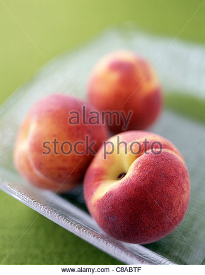 Peaches - Stock Image
