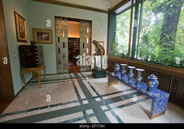 Villa Necchi Campiglio, Milan, Italy - Stock Image