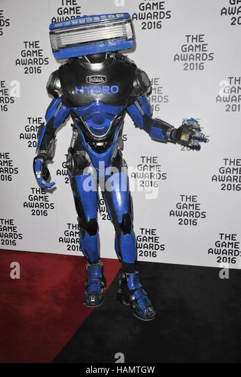 Los Angeles, California, USA. 1st Dec, 2016. Hydrobot at arrivals for The Game Awards 2016, Microsoft Theater, Los - Stock-Bilder