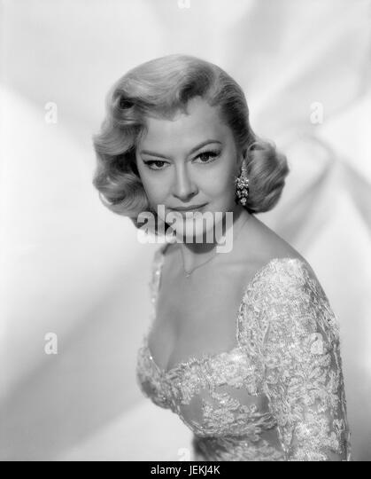 MARILYN MAXWELL (1921-1972) US film actress in 1958 - Stock-Bilder