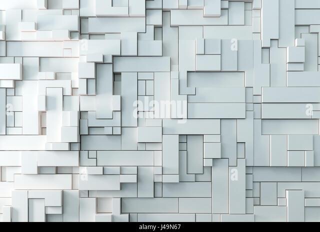 Abstract 3D background - 3D illustration - Stock-Bilder