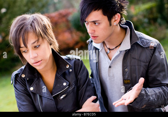 Teenagers - Stock Image
