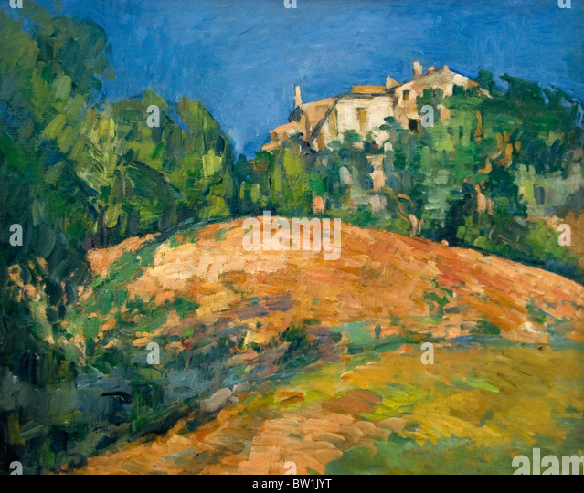 Cezanne la stock photos cezanne la stock images alamy - Maison de france bellevue ...