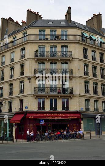 Cafe Near Madeleine Paris
