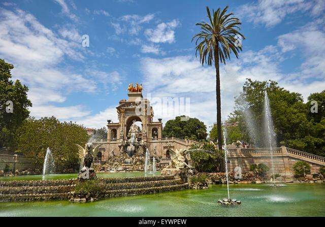 Parc de la Ciutadella, Barcelona, Catalonia, Spain, Europe - Stock Image