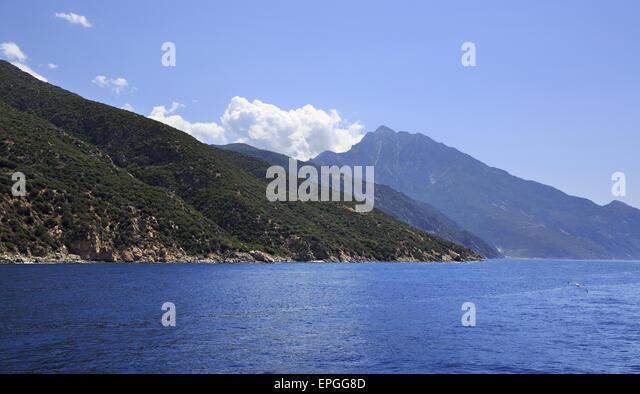 Mount Athos - Stock Image