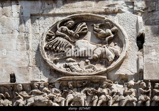 Arco di Costantino, Rome, Italy - Stock Image