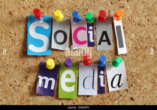 Social media - Stock-Bilder