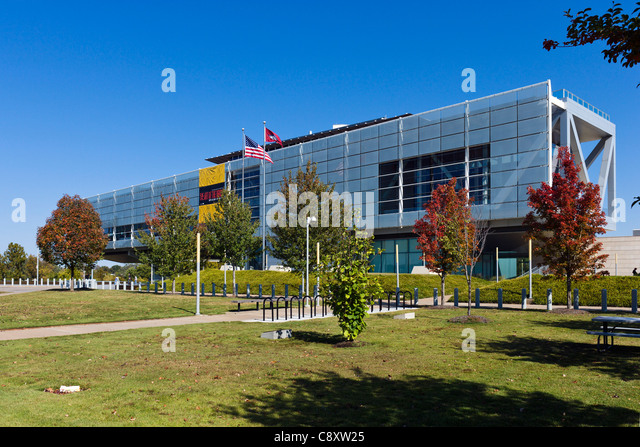 The William J Clinton Presidential Library and Museum, Little Rock, Arkansas, USA - Stock Image