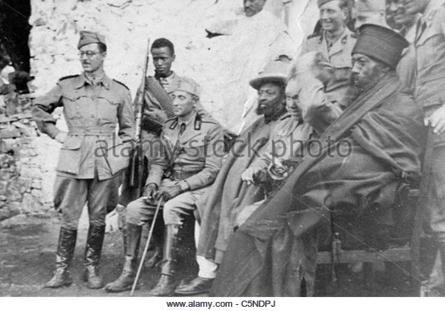italian invasion in abyssinia, africa, 1935 - Stock Image