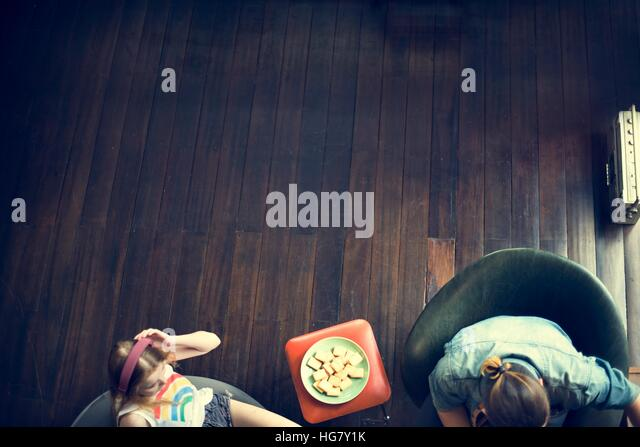Young People Teen Age Concept - Stock Image