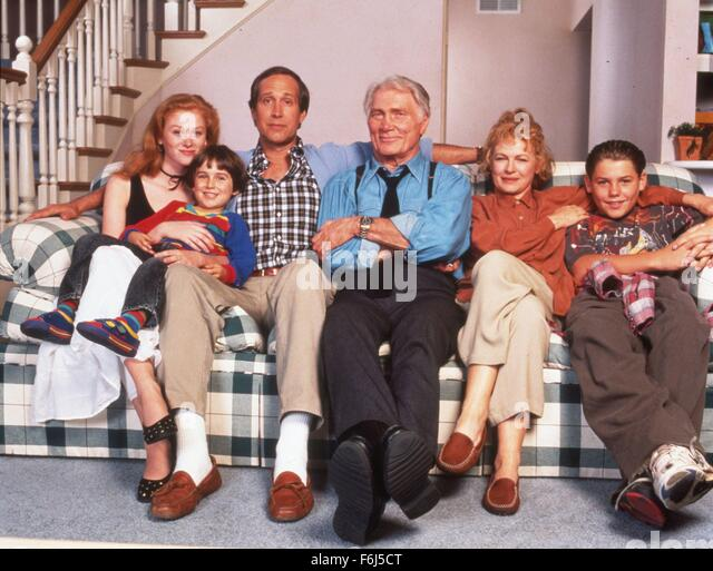 1994, Film Title: COPS AND ROBBERSONS, Director: MICHAEL RITCHIE, Studio: TRI, Pictured: CHEVY CHASE, ENSEMBLE, - Stock Image