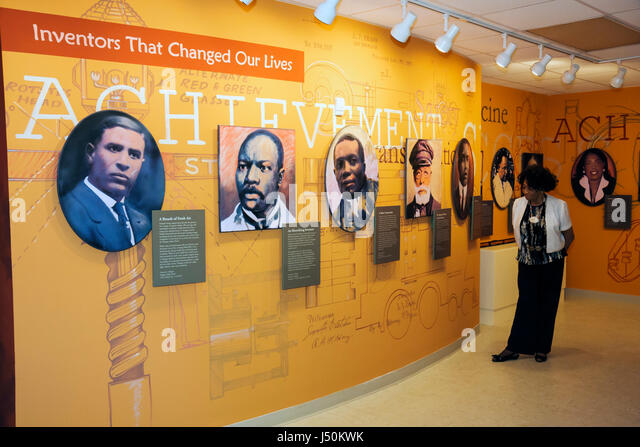 Alabama Dothan George Washington Carver Interpretive Museum Black History exhibits inventor woman - Stock Image