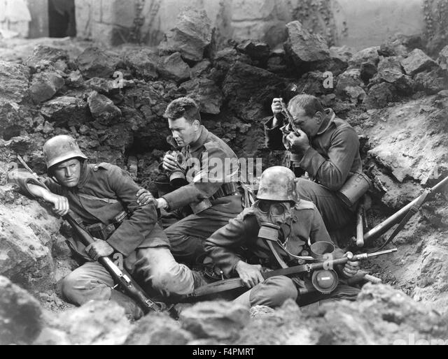 an analysis of the film all quiet on the western front directed by delbert mann All quiet on the western front (1930) was based on the erich maria remarque novel of the same name directed by lewis milestone and starring louis wolheim, lew ayres, john wray, arnold lucy and.