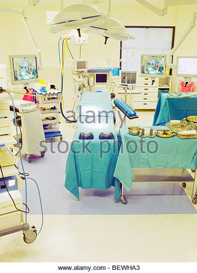 Empty operating room - Stock Image