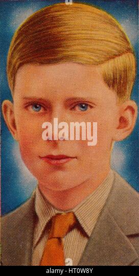 The Honourable Gerald Lascelles, 1935. Artist: Unknown. - Stock Image