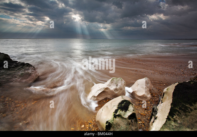 Hengistbury Head, Dorset, UK - Stock Image