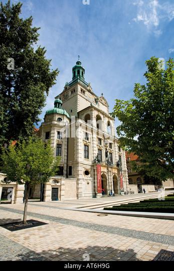Germany, Bavaria, Bavarian National Museum, Munich - Stock Image