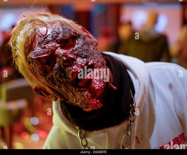 The 15th Film4 Frightfest on 25/08/2014 at The VUE West End, London.  Picture by Julie Edwards - Stock Image