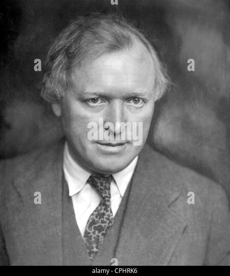 German actor Werner Krauss (1884-1959). - Stock-Bilder
