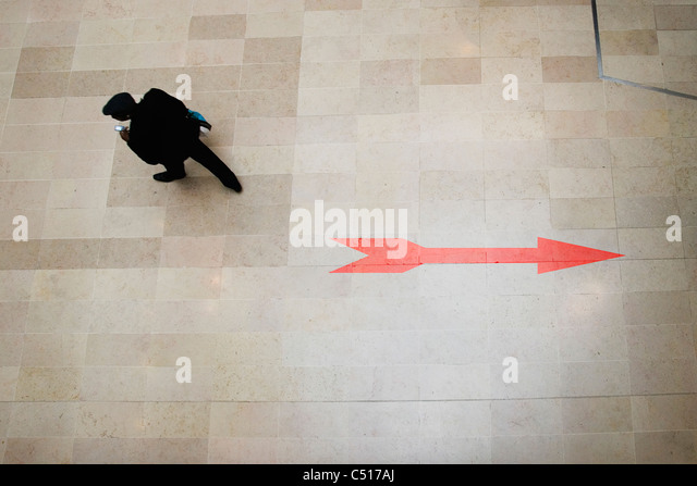 Opposite direction stock photos opposite direction stock for Opposite of floor