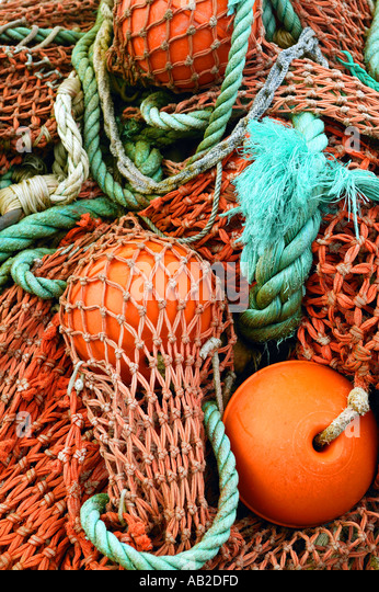 lines nets commercial fishing gear stock photos & lines nets, Reel Combo